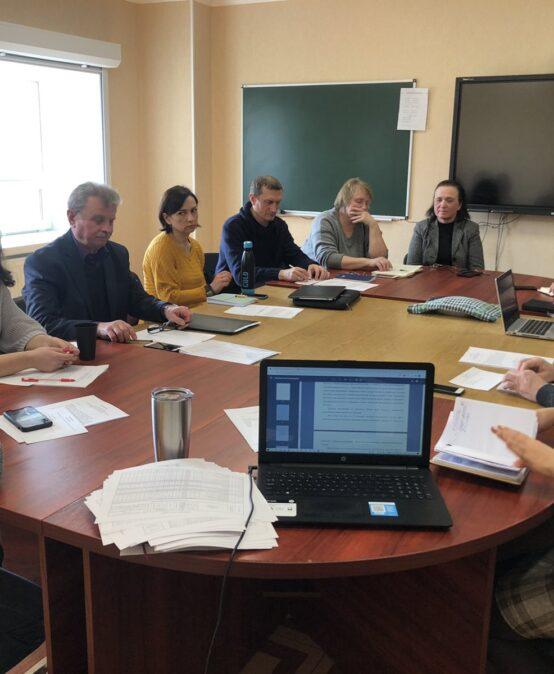 Засідання Вченої ради Таврійського християнського інституту